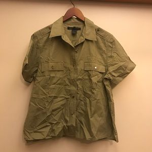Marc Jacobs Army Button Up
